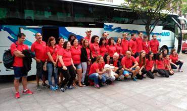 La delegación asturiana d'esti 2015 entama'l viaxe al Festival de Lorient