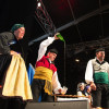 El folklor anováu tamién pue executase con trebeyu y procuru al tiempu